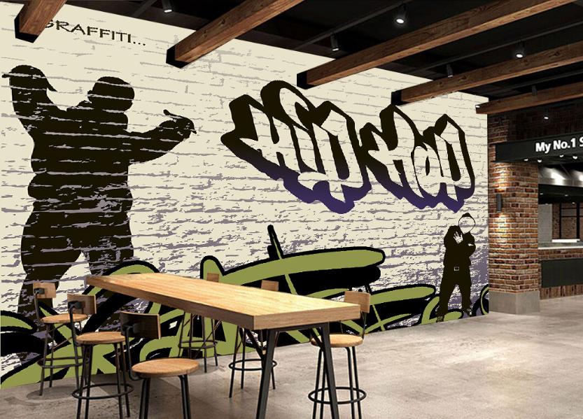 3D Hip-Hop-Stil Malerei 84 Tapete Wandgemälde Tapete Tapeten Bild Familie DE