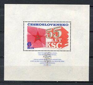 33365-CHECOSLOVAQUIA-1976-MNH-Comunista-Party-S-s