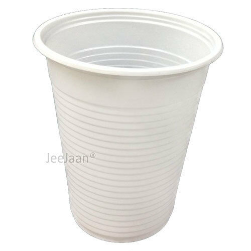 5000 x Weiß Disposable Plastic 7oz Cups Cold Drink Tumbler Water Juice Party