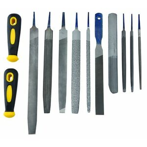 Details about File and Rasp Set 12 Pc Rust Stock Removal Tools Set