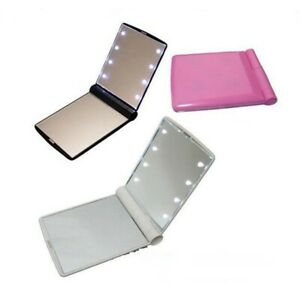 cosmetic-compact-folding-portable-pocket-Makeup-mirror-with-8-led-lights