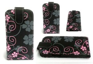 PU-Leather-Black-Flower-Flip-Case-Cover-For-iPhone-4G-5-5S-Samsung-Galaxy-S3-S2