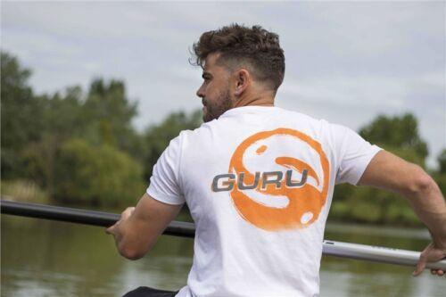 Clothing Fishing Details about  /Guru Offset Logo T-Shirt White