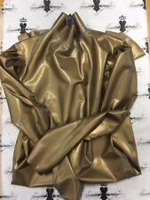 R1169 Rubber Latex OPHELIA Dress SHOWN GUMMI size 8 GOLD Slight Second