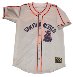 on sale 7ee8a f3645 Details about San Francisco Sea Lions Customized Baseball Jersey Negro  Leagues Giants