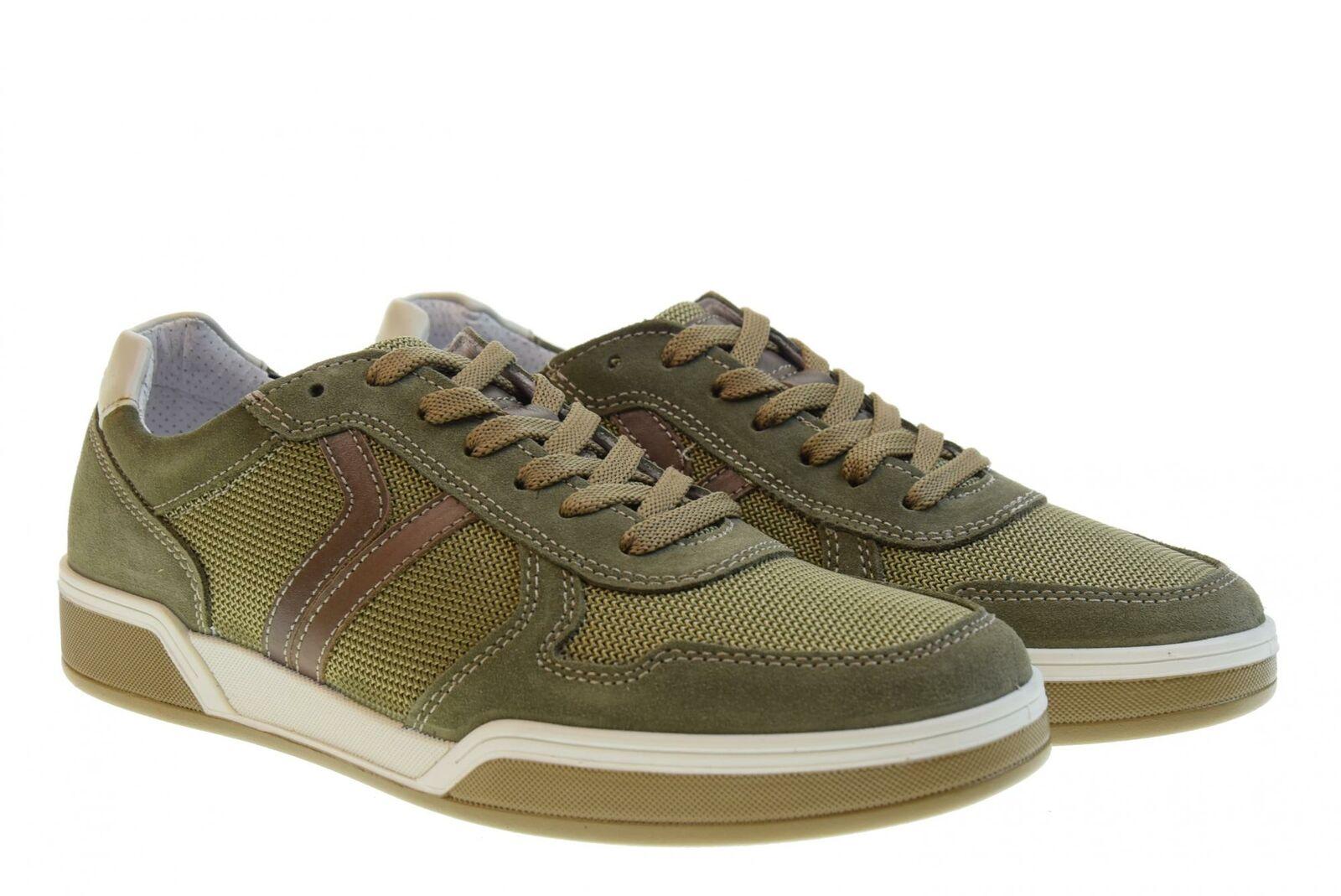 Igi&Co P19us shoes men low sneakers 3136422 GREEN