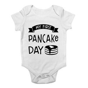 My-First-Pancake-Day-Boys-Girls-Baby-Grow-Vest-Bodysuit