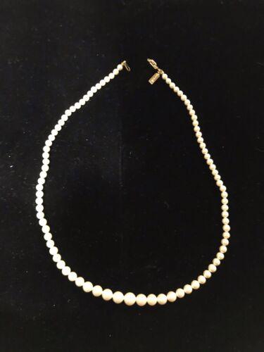 vintage marvella pearl necklace - image 1