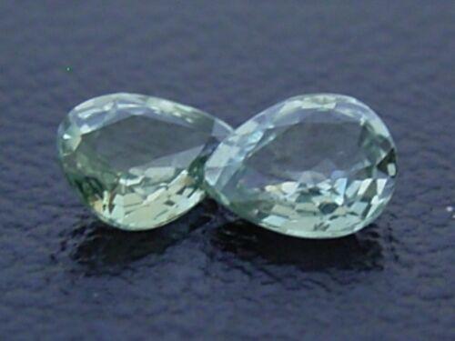 Ceylon Green Sapphire VS 5x4mm Pear 0.34ct Loose Natural Gemstone Sri Lanka Nice