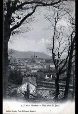 GENEVE (SUISSE) VILLAS & USINE vues de SAINT-JEAN , cliché début 1900