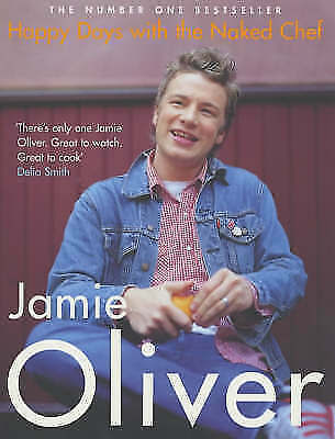 1 of 1 - Happy Days with the Naked Chef, Jamie Oliver | Paperback Book | Good | 978014100