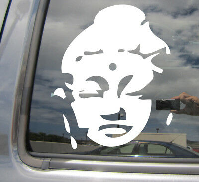 Buddhist Meditate Car Auto Window Vinyl Decal Sticker 08028 Sitting Buddha