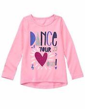 NWT Gymboree MIX N MATCH Girls Size Large 10-12 Long Sleeve Dance Tee Shirt Top