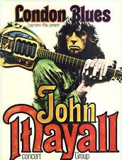 John Mayall Concert Group ORIGINAL Konzertplakat 1969 Kieser ZUSTAND BEACHTEN