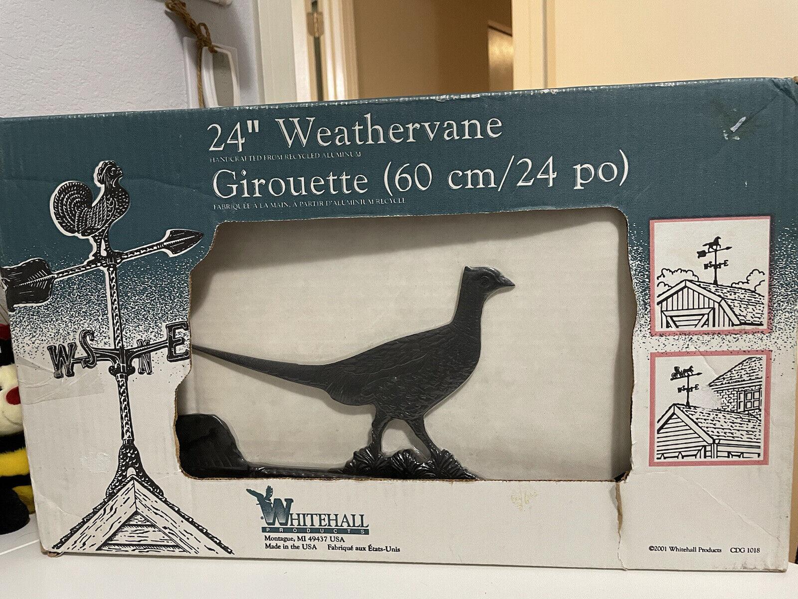 "Whitehall Pheasant 24"" Weathervane"