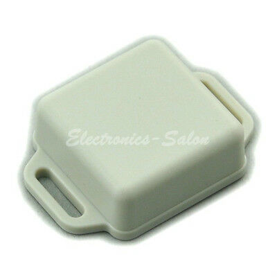 Small Wall-mounting Plastic Enclosure Box Case, White, 36x36x15mm, HIGH QUALITY.