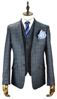 Mens Designer Tweed Wool Blazer Waistcoat Trousers Sold Separately 3 Piece Suit