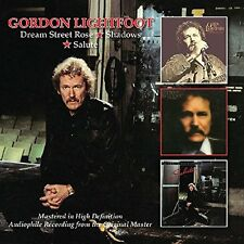 Gordon Lightfoot - Dream Street Rose/Sahdows/Salute (2016)  2CD  NEW  SPEEDYPOST