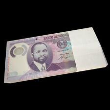 1/2 Bundle Lot 50 PCS, Mozambique 20 Meticais, 2011, P-149, Polymer, UNC