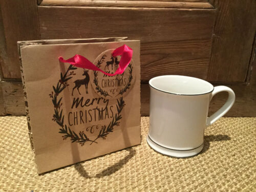 Vintage Style Brown Paper Gift Bags Craft Do Not Open Until 25th