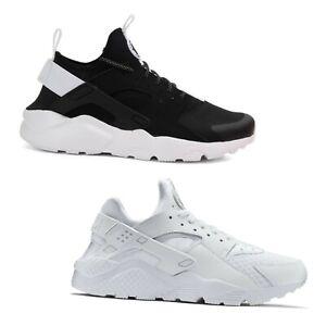 scarpe uomo nike huarache bianca nero
