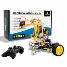 Mechanical Arm Robot Car Starter Kit Withps2 Control Bluetooth Arduino Android Ios
