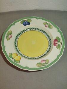 Villeroy-amp-Boch-French-Garden-Large-Rim-Soup-Bowl-9-034-New