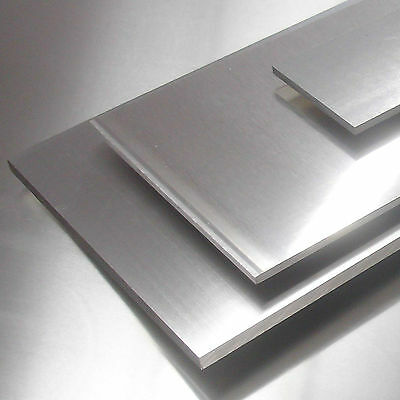 Aluplatte 47,- €//m Alu Platte Blech 400x265x5mm AlMg3 Aluminium Zuschnitt