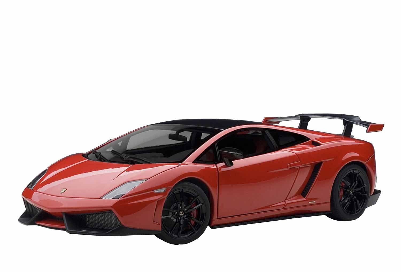 74691 1:18 Lamborghini Gallardo LP570-4 AUTOart Super Trofeo Stradale rosso Japan