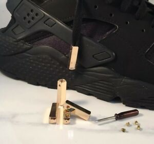 Rose Gold Nike Aglets Sneaker Lace Tips
