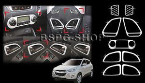 Accesorio para Hyundai Ix35 Cromo Habitáculo Interior Molding Kit ...
