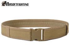 """Airsoft 600D 2"""" Tactical Load Bearing Combat Duty Web Belt Tan A"""
