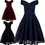 Vintage-Lace-1950-039-s-Hepburn-Rockabilly-Homecoming-Evening-Swing-Dress-Cocktail thumbnail 9