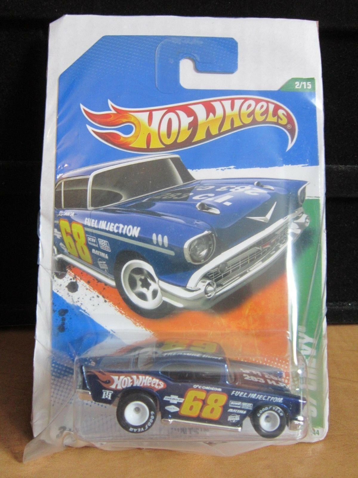 Hot Wheels 2010 Super Treasure Hunt CHEVY --NEW & Carded