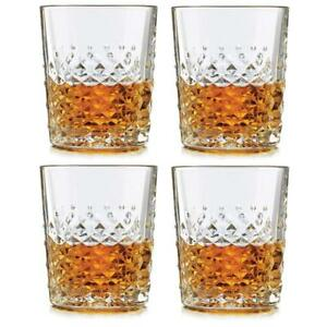 SET-OF-FOUR-4-LIBBEY-DOUBLE-OLD-FASHION-GLASSES-MADE-IN-USA-12-OZ-GLASS-NEW