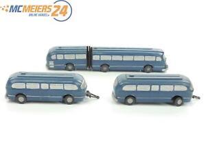 E47Z115s-Wiking-H0-227-Mercedes-O-6600-ohne-Zughaken-Gepaeckbruecke-strukturiert