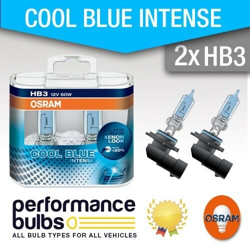 9005 94-05 High Beam Bulbs HB3 916 Osram Cool Blue Intense ALFA ROMEO SPIDER