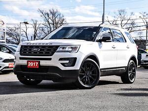 2017 Ford Explorer 4WD|XLT|NAVIGATION |LEATHER |20' WHEELS