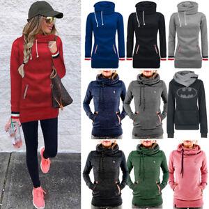 Women-Hoody-Sweatshirt-Hooded-Long-Sleeve-Hoodie-Jumper-Jacket-Pullover-Coat-Top