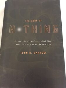 THE BOOK OF NOTHING 1st American Edition First Printing John D. Barrow HC/DJ