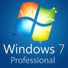 Windows 7 Professional 64bit - 32bit Full Version Product Key,COA,License