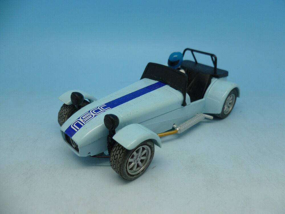 Scalextric Pre Production Caterham 7 NSCC Club Car,  see description