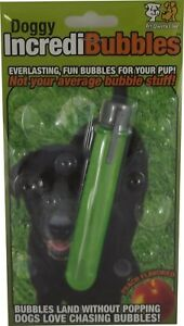 Pet-Qwerks-Doggy-IncrediBubbles-Everlasting-Fun-Exercise-Bubbles-For-Dogs-NEW