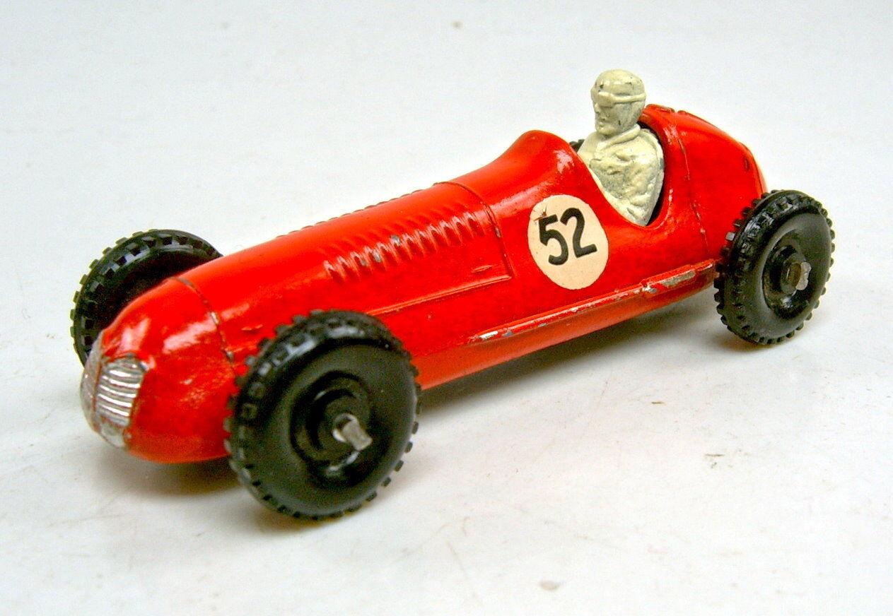 Matchbox RW 52A Maserati Racing Car rot  52  gekniffene Achsen guter Zustand