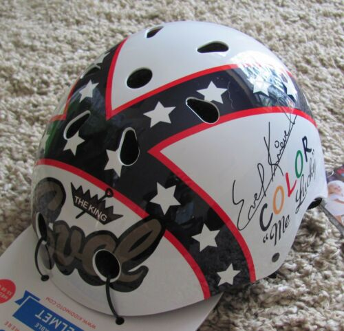 Kiddimoto  EVEL KNIEVEL Children/'s Bike  Cycle Scooter Skate  Helmet Child Kids