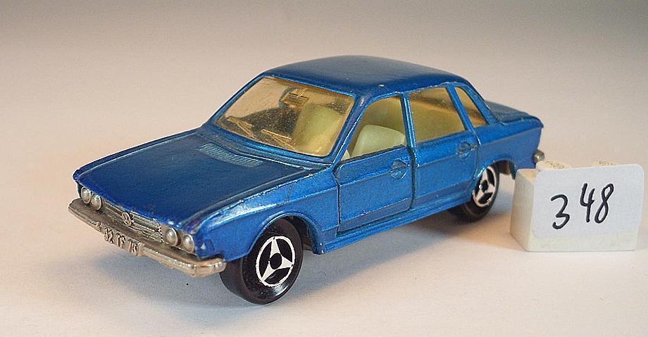 Majorette 1 60 60 60 Nr. 210 VW Volkswagen K70 Limousine bluemetallic Nr. 2 fa1cfa