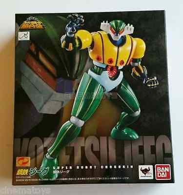 kb10 Super Robot Chogokin STEEL JEEG Action Figure BANDAI TAMASHII NATIONS NEW
