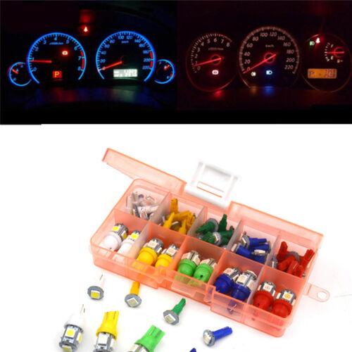 40PCS Car Truck T5/&T10 LED Bulbs For  Panel Dashboard/&Side marker/&Backup Light