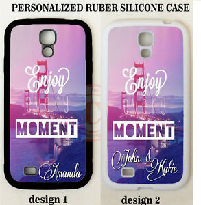 SAN-FRANCISCO-ENJOY-MOMENT-MONOGRAM-PHONE-Case-For-Samsung-Galaxy-S6-S5-S4-NOTE