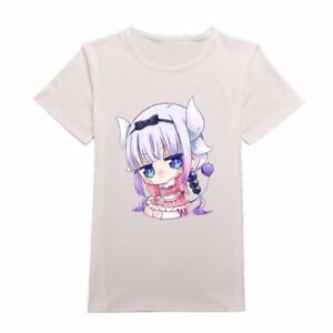 Miss-Kobayashi-039-s-Dragon-Maid-T-shirt-Kanna-Kamui-Cosplay-Short-Sleeves-Shirt